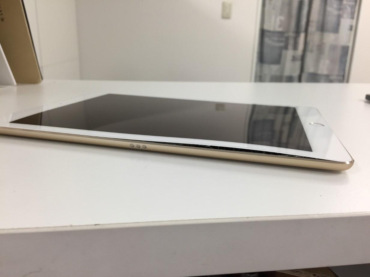 ガラスが浮いたiPadPro 9.7
