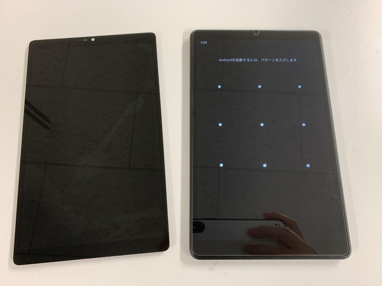 画面交換でタッチ操作が出来るよう改善したLenovo Tab M8