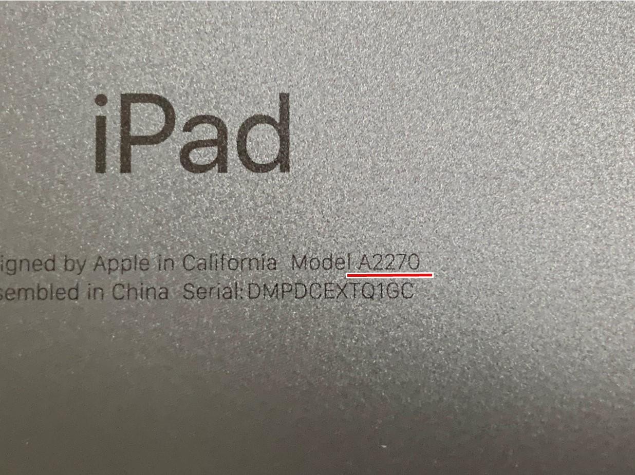 iPad 第8世代の修理ご依頼を頂きました