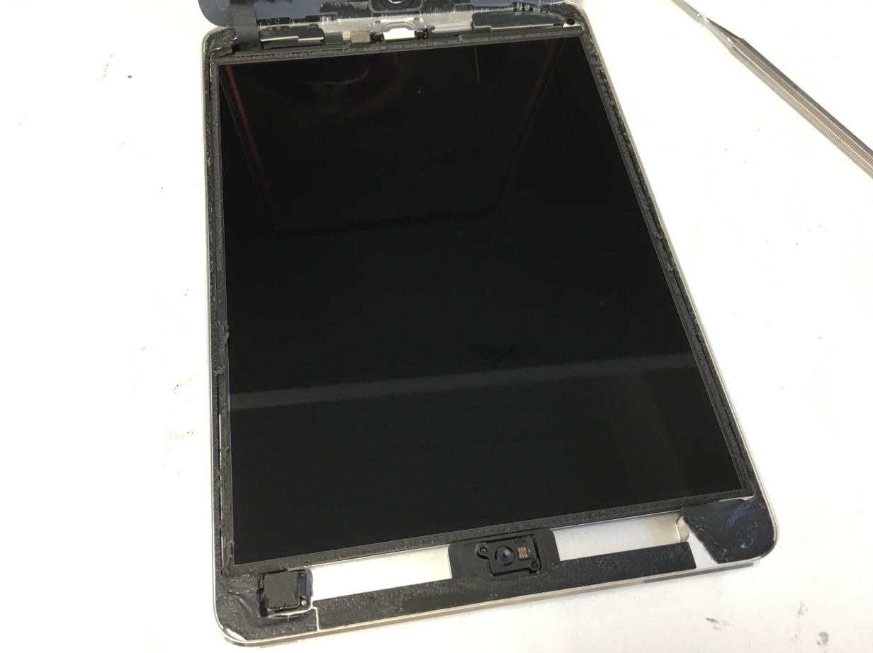 ガラスを剥がしたiPad mini2