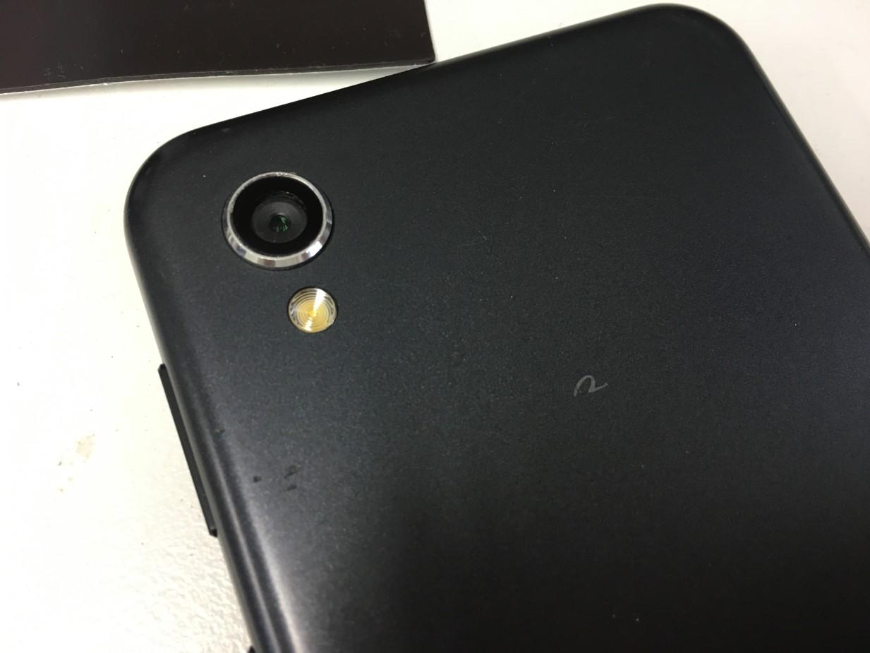 カメラレンズを修理したAQUOS PHONE(SH-M08)