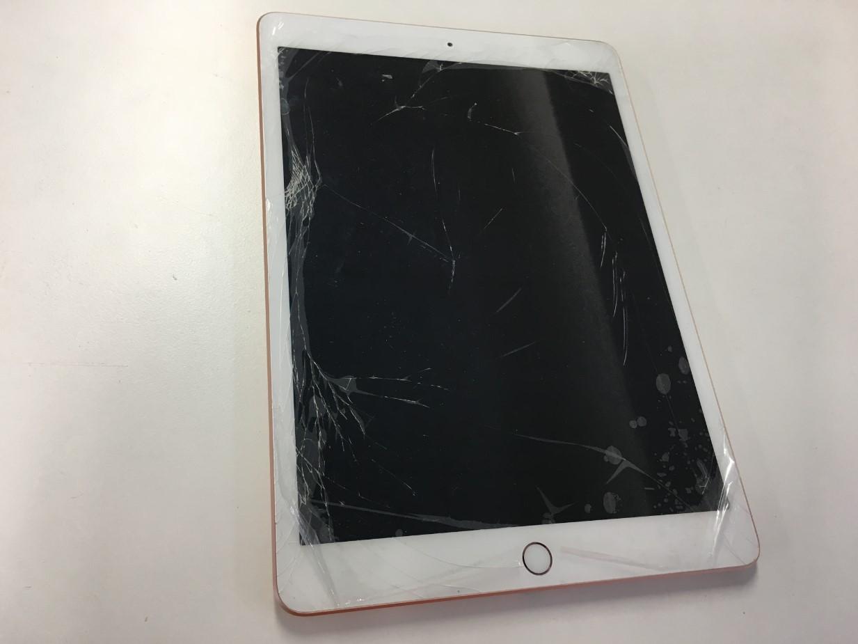 表面ガラスが割れたiPad第8世代