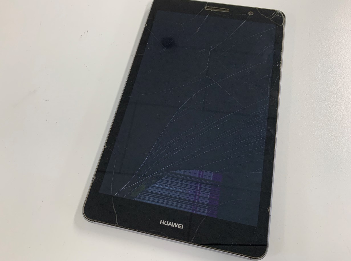 MediaPad T3(KOB-W09)の画面が損傷して操作できない
