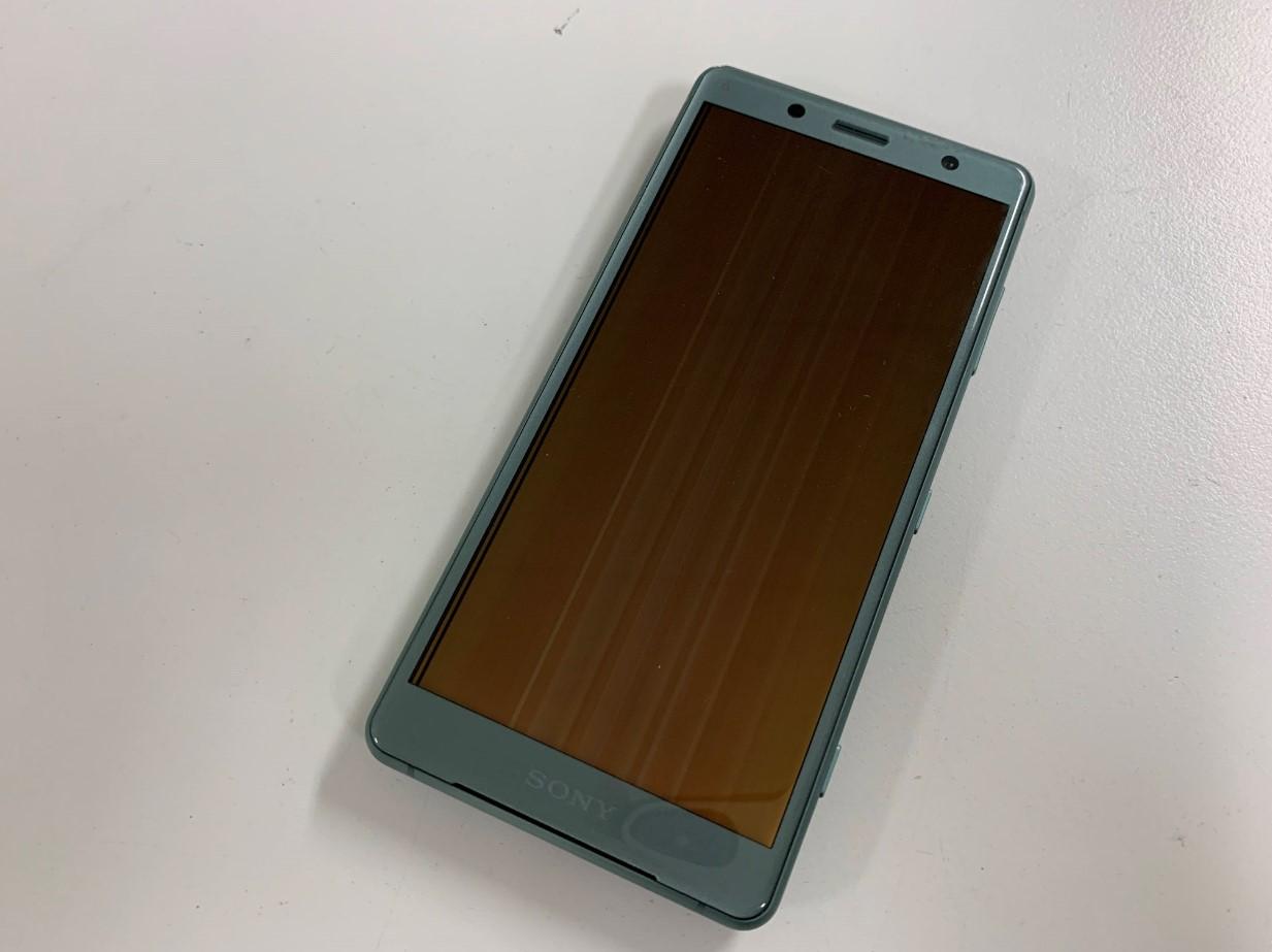 画面表示異常のXperia XZ2 Compact