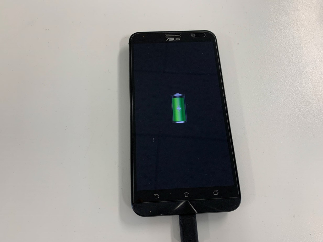 充電されるように改善したZenfone Go