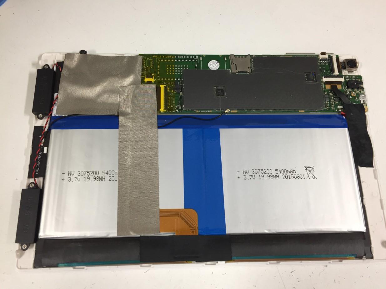 分解したFRONTIERのFRT810の本体内部