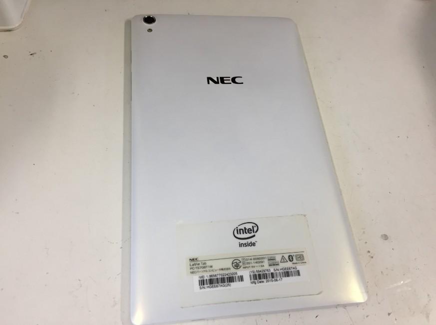 充電の減りがとても早いNECタブレット(PC-TS708T1W)