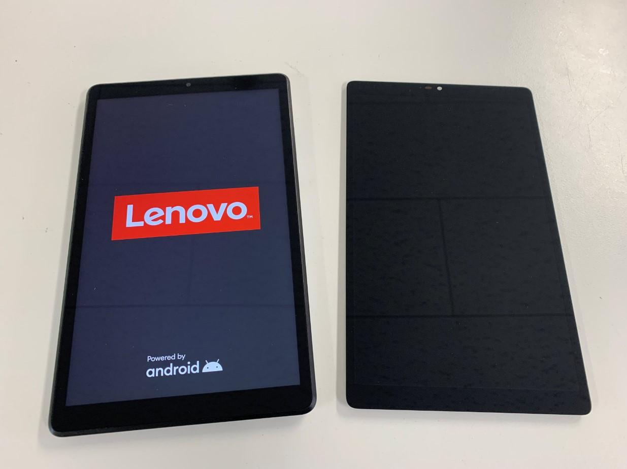 画面交換で表示されるように改善したLenovoTab M8