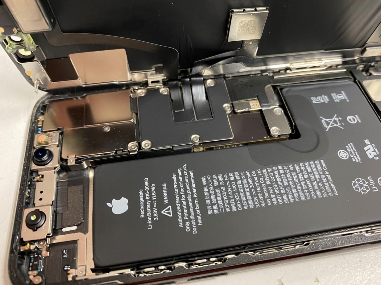 画面を開いたiPhone11Pro