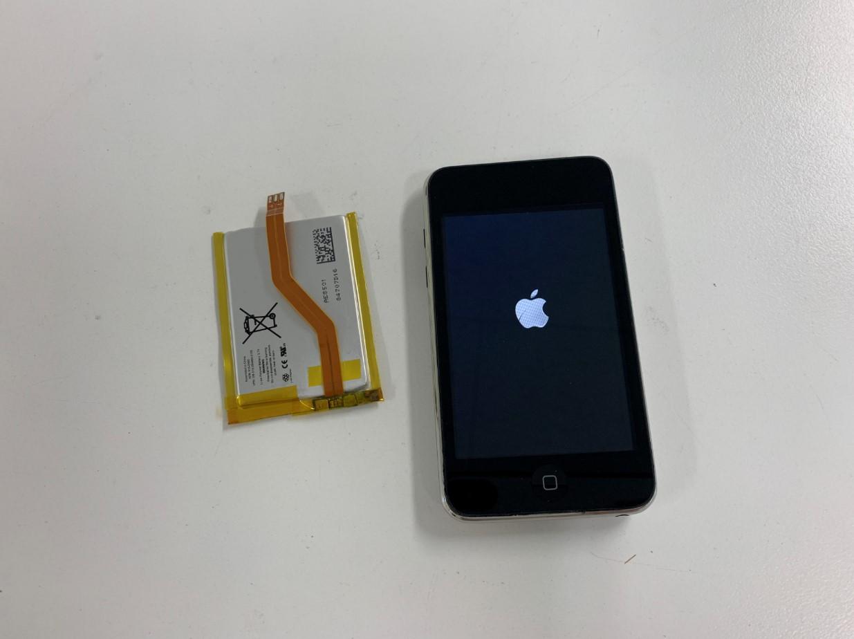 バッテリー新品交換修理後のiPod Touch 第2世代