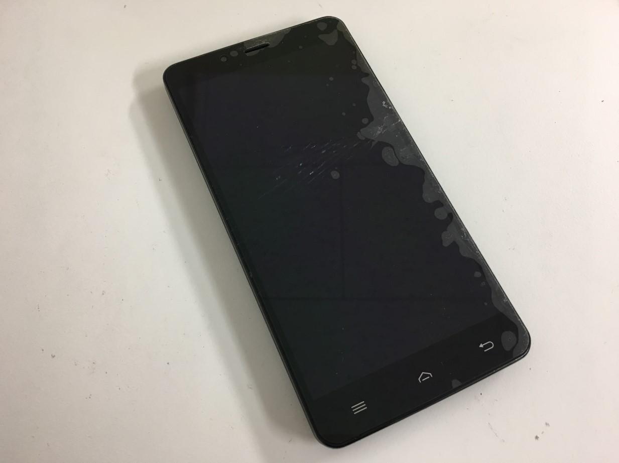 表面ガラスが割れたEveryPhone AC(EP-171AC)