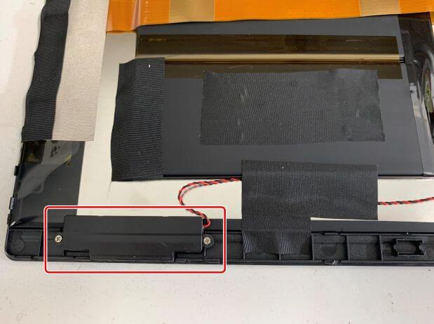 VANKYO MatrixPad S30のもう片方のスピーカー